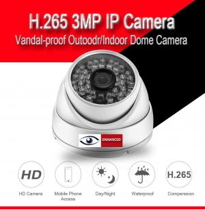 ESP-VD301 VANDAL-PROOF H.265 IP CAMERA