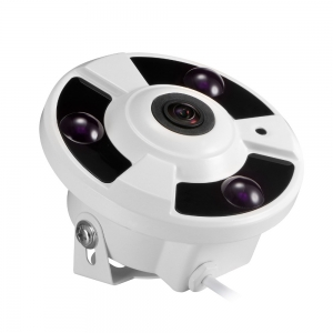 ESP-FE301 3MP Fish-Eye Camera POE Outdoor IR